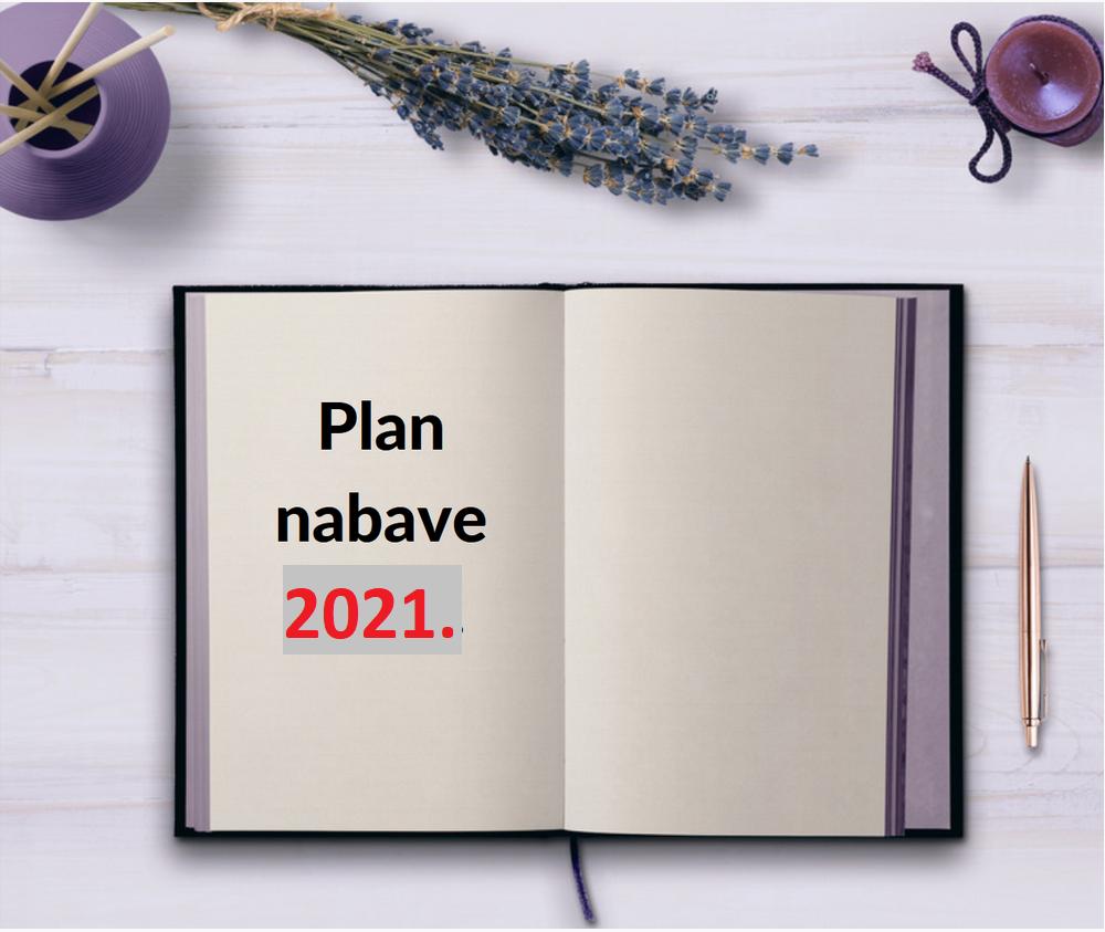 Plan nabave za 2021. godinu